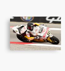 MAXIME BERGER at Miller Motorsports park 2012 Canvas Print
