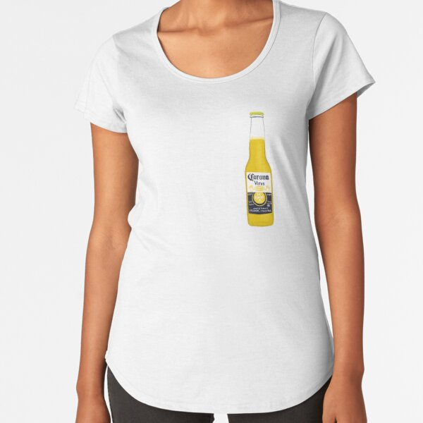 Covid in a Bottle Premium Scoop T-Shirt