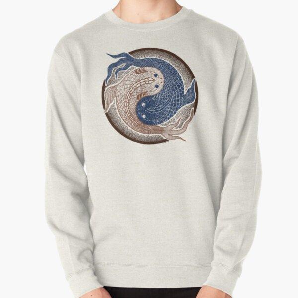 yin yang fish, shuiwudao mandala Pullover Sweatshirt