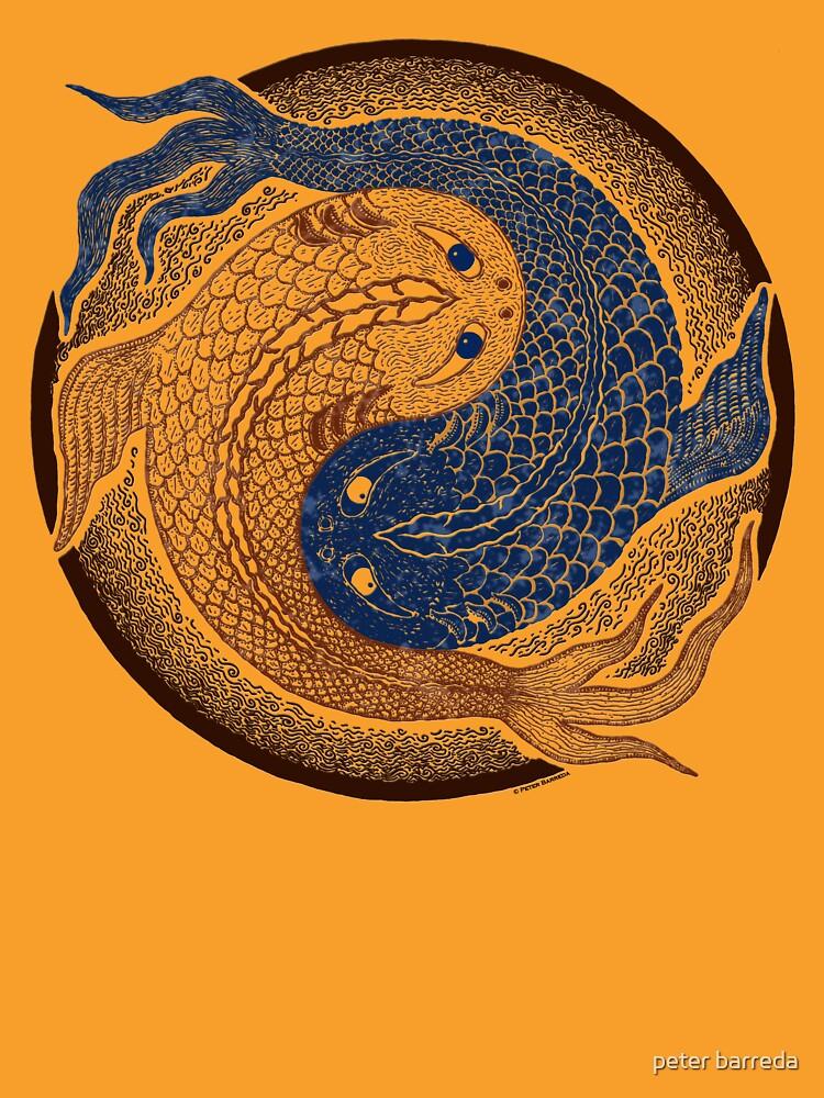 yin yang fish, shuiwudao mandala | Unisex T-Shirt