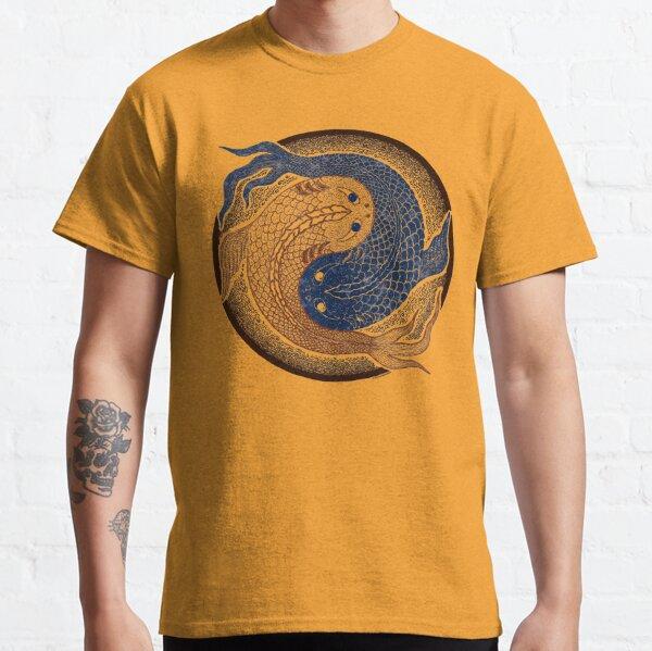 yin yang fish, shuiwudao mandala Classic T-Shirt