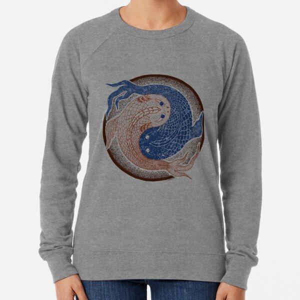 yin yang fish, shuiwudao mandala Lightweight Sweatshirt