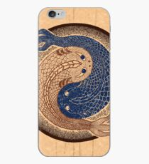 yin yang fish, shuiwudao mandala iPhone Case