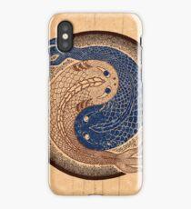 yin yang fish, shuiwudao mandala iPhone Case/Skin