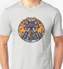 Los Robots Gigantes: It Begins Unisex T-Shirt