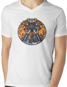 Los Robots Gigantes: It Begins Mens V-Neck T-Shirt