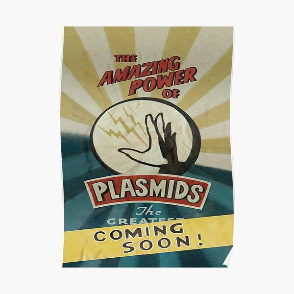 BioShock - ¡El asombroso poder de los plásmidos! Póster