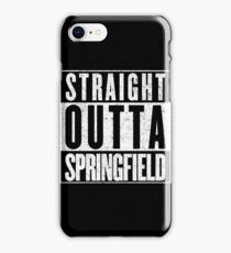 Springfield Represent! iPhone Case/Skin