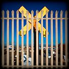 Cross, Shoreham Docks by Heather Buckley
