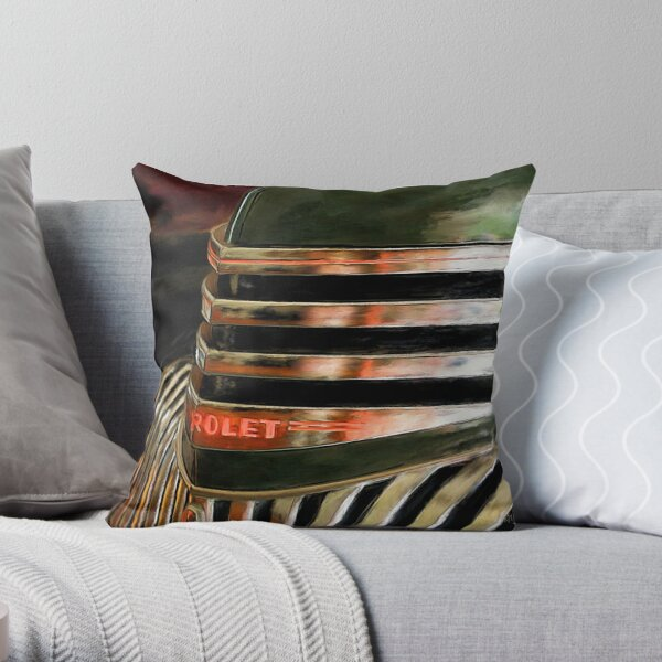 See The USA In A Chevrolet - Painterly Throw Pillow