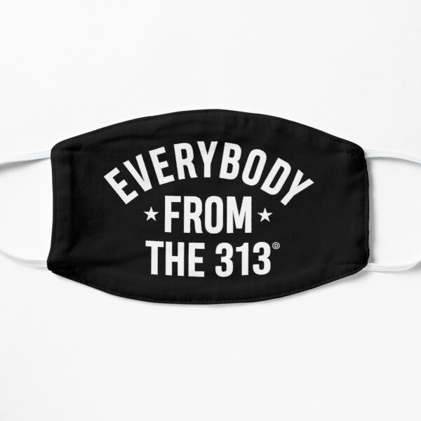 Everybody From The 313 Flat Mask