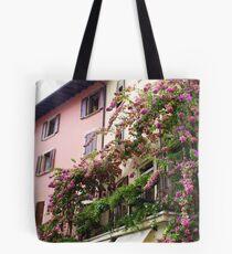 Balcony Bloom Tote Bag