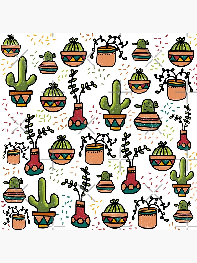 Retro Succulents by KatieCannon
