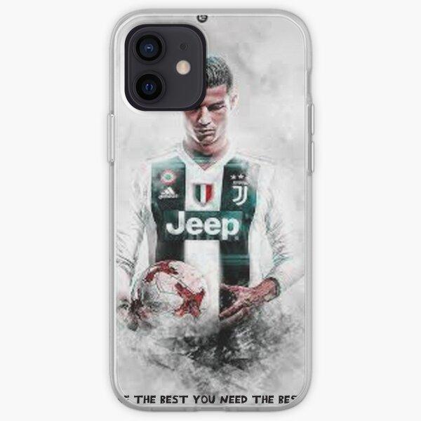 Cristiano Ronaldo Funda blanda para iPhone