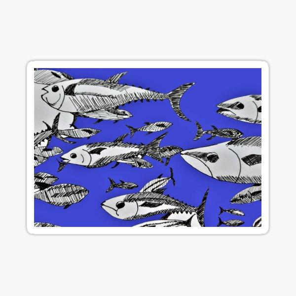 Fish in the Sea Sticker