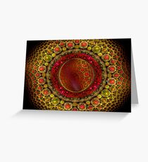 Universe within A Universe Greeting Card