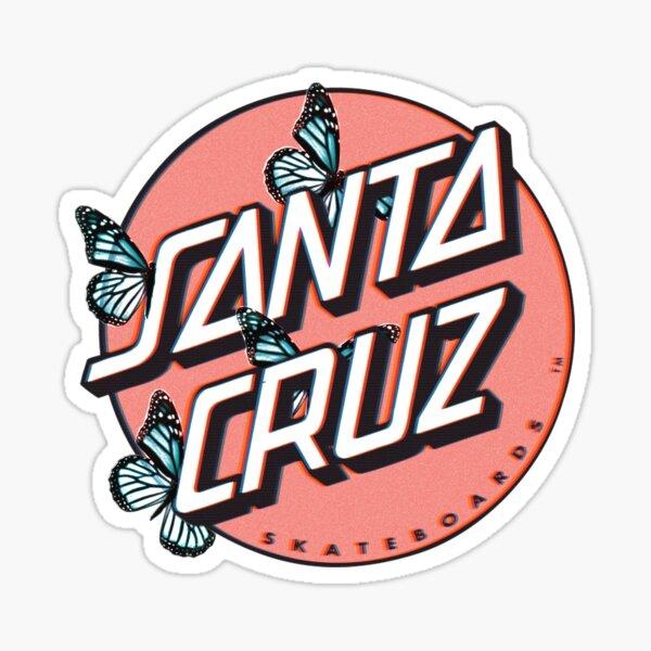 Butterfly Santa Cruz  Sticker