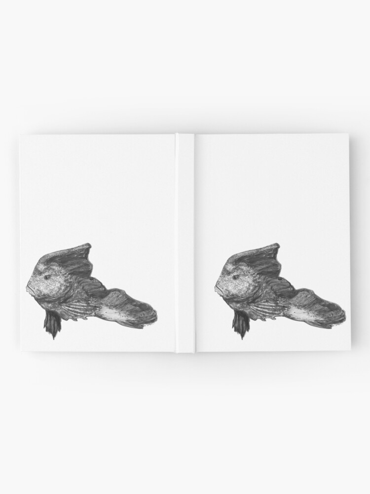 Alternate view of Paulina the Red Indian Fish Hardcover Journal