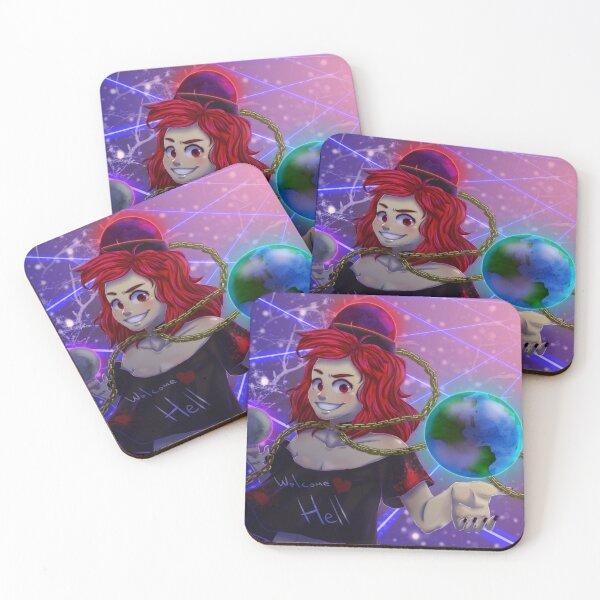 Pandemonic Planet Coasters (Set of 4)