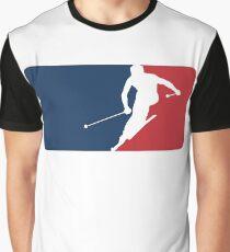 Skiing Graphic T-Shirt
