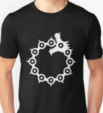 The Seven Deadly Sins - The Dragon Sin of Wrath (White) Unisex T-Shirt