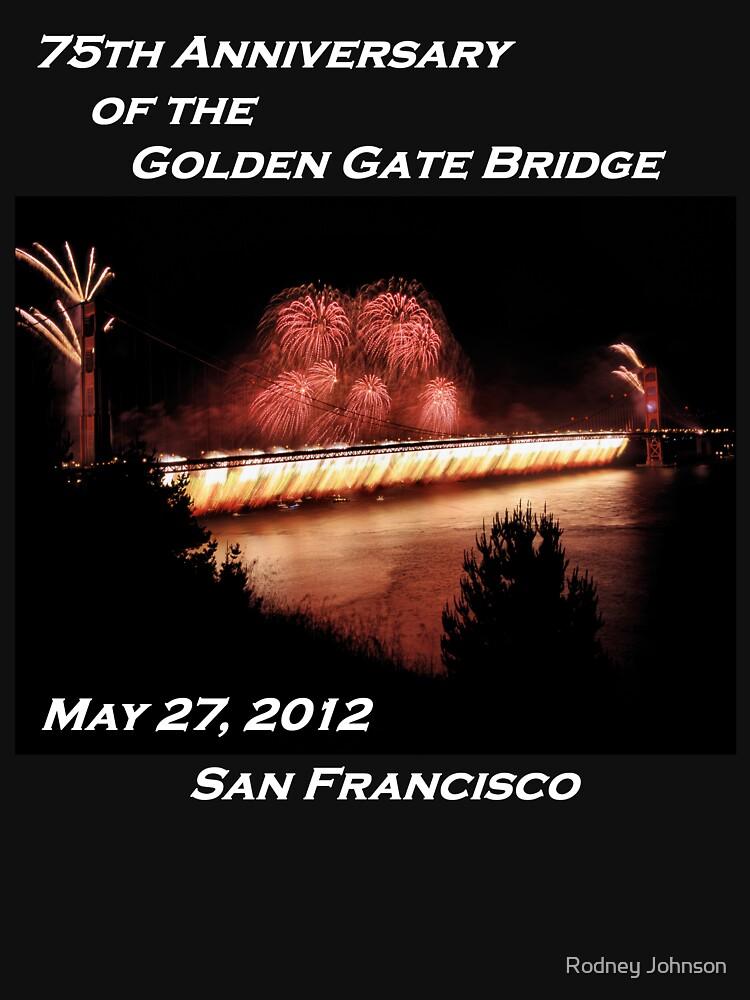 Fireworks - 75th Anniversary of the Golden Gate Bridge by rodneyj46