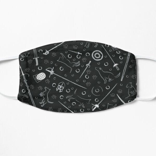 Dogs of HEMA (black) Flat Mask