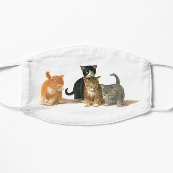 Cute Kittens Flat Mask