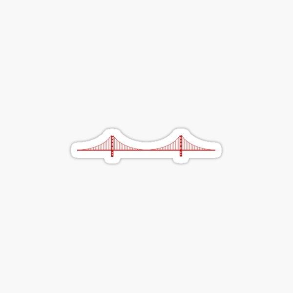Golden Gate, San Francisco Sticker