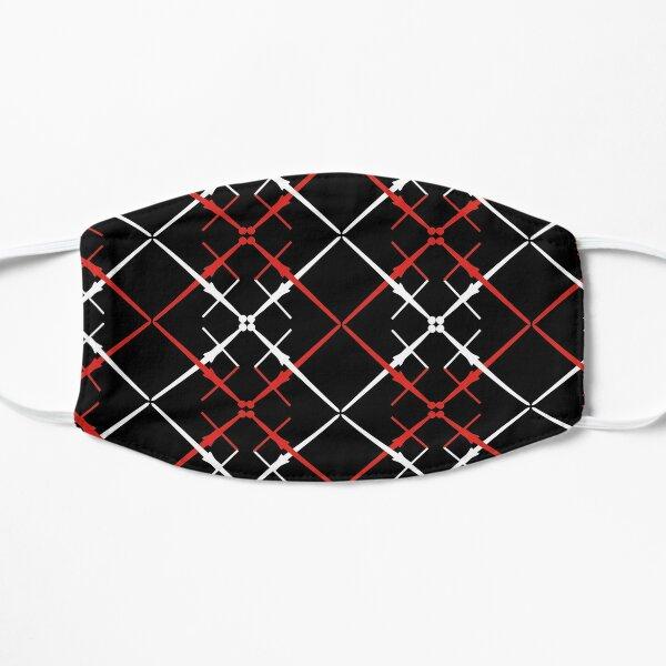 Crossed Spadoni Pattern Flat Mask