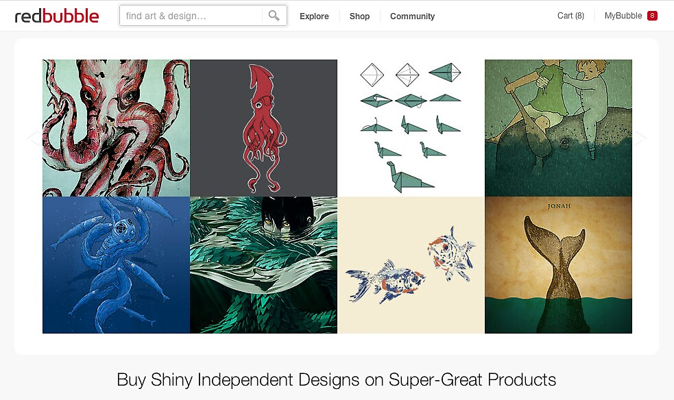 28 June 2012 by The RedBubble Homepage