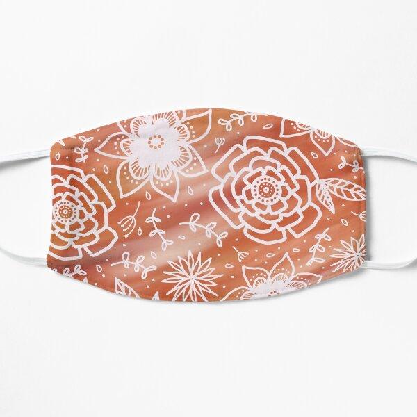 Sunset florals  Mask
