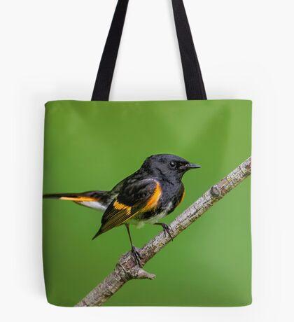 Little Redstart Tote Bag