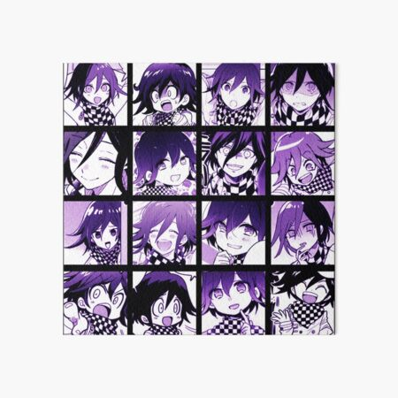 Kokichi Manga Collection (Colored) Art Board Print