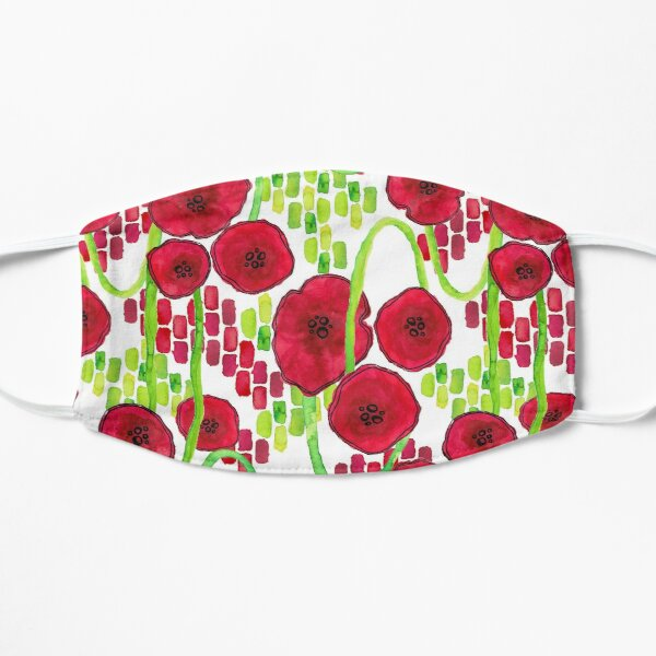 Poppies Small Mask
