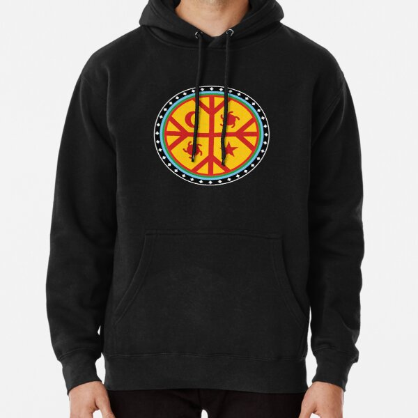 Mapuche Chile Argentina South America Pullover Hoodie
