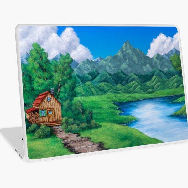 Cabin by the Lake Laptop Skin