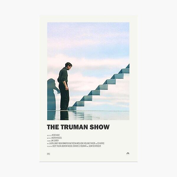 El póster de la película alternativa de The Truman Show Lámina fotográfica
