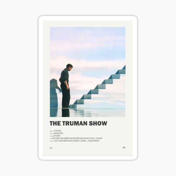 The Truman Show Alternate Movie Poster Sticker