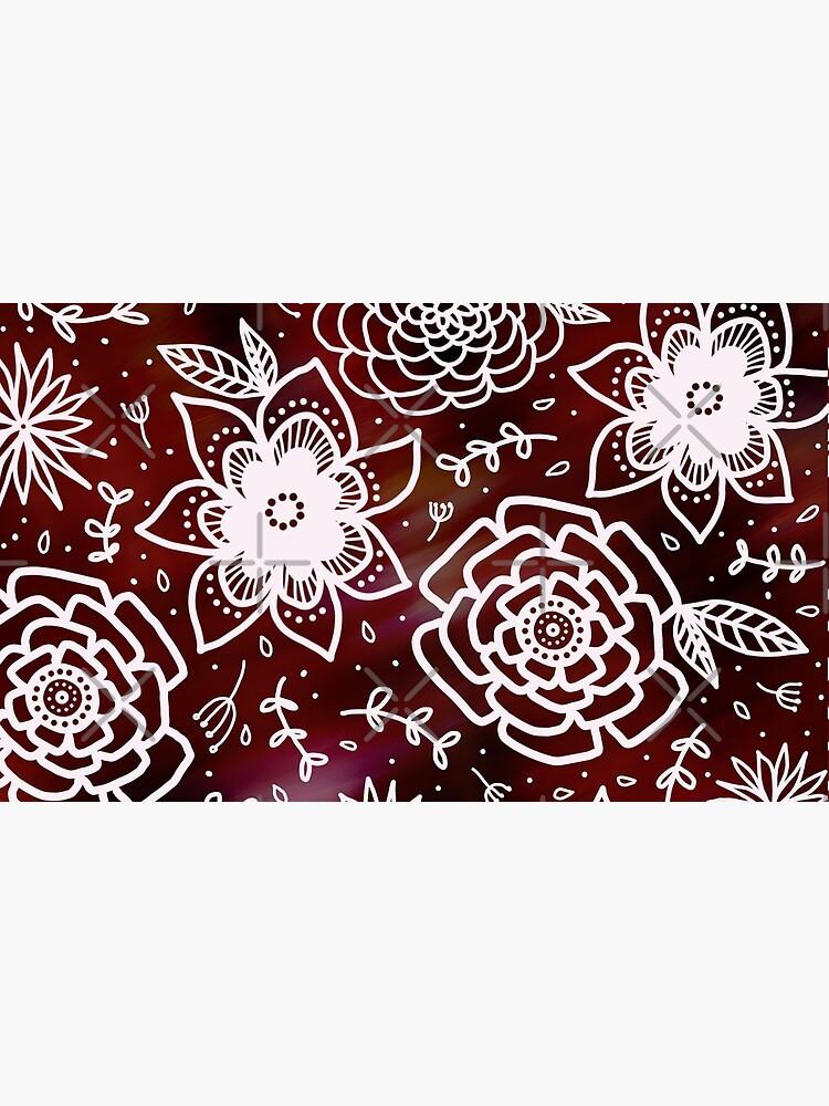 Sunrise florals by KatieCannon