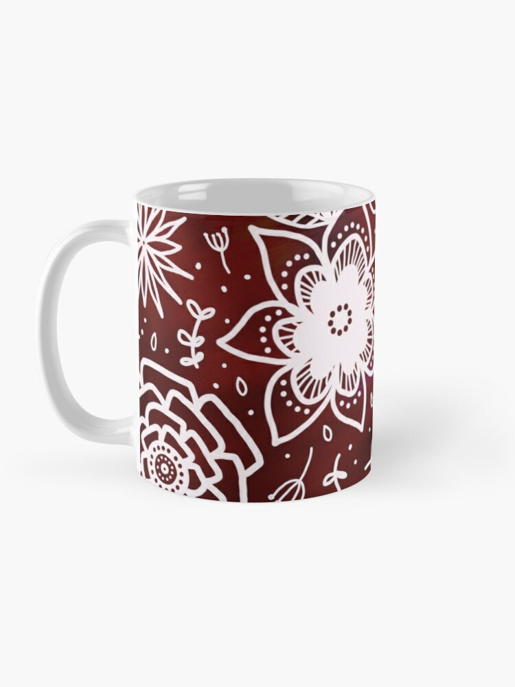 Alternate view of Sunrise florals Mug