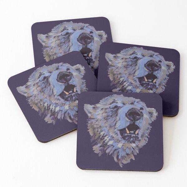 Polar Bear Coasters (Set of 4)