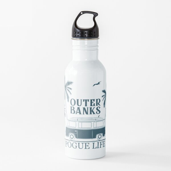 Pogue life, Outer banks north carolina Water Bottle