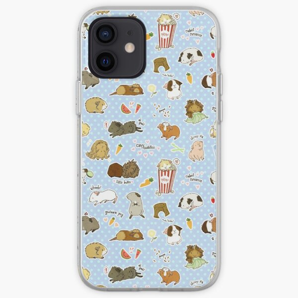 Guinea Pig Party! - Cavy Cuddles and Rodent Romance iPhone Soft Case