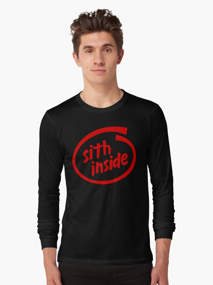 Sith Inside Long Sleeve T-Shirt Front
