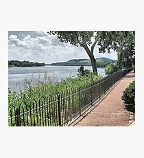 Ohio River Walkway Photographic Print