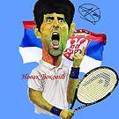 Djokovic number 1 by Dulcina