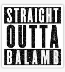Balamb Represent! Sticker