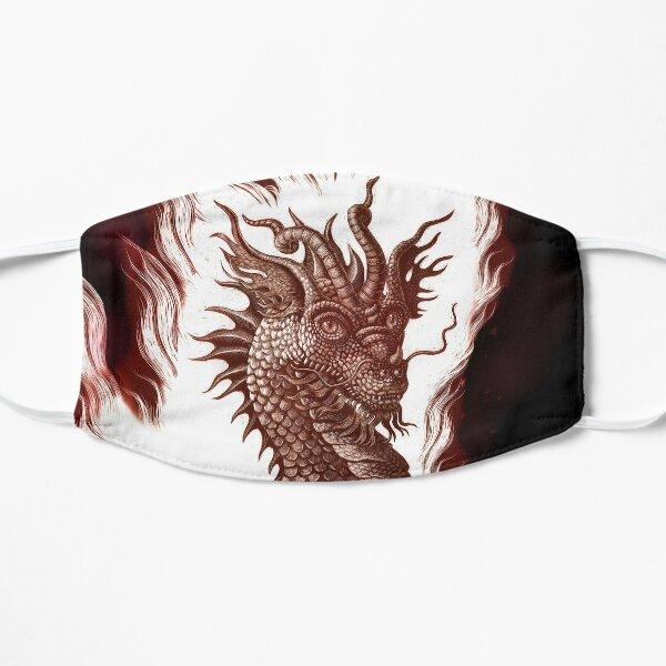 Fire Dragon Flat Mask