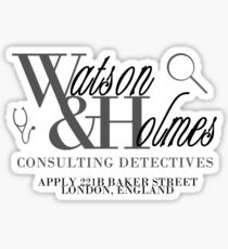 A Detective & A Doc Sticker